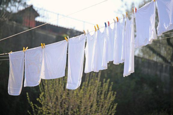 Ukens grønne tips: Er det effektivt å tørke klær i vårsolen? Og å rengjøre med snø?