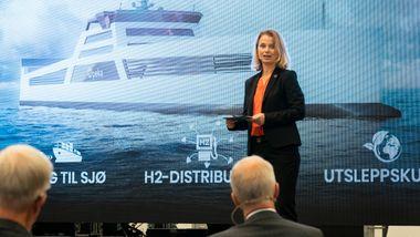 Skal bygge verdens første frakteskip drevet av hydrogen
