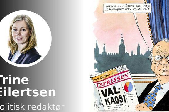 Ingen selvfølge at partilederne klarer å vise at Sverige har et politisk system som er forståelig