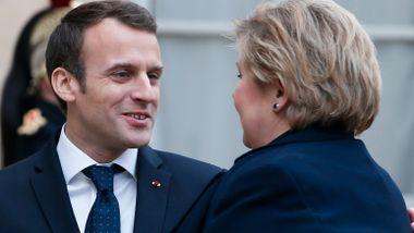 Macron knuste de etablerte partiene i Frankrike. Solberg peker på to årsaker til at ingen i Norge kan gjøre det samme.