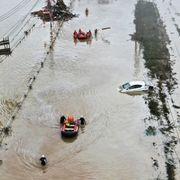 Minst 44 døde i uvær i Japan – 1,1 millioner personer evakueres