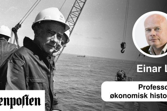 Ingen kan gjenta den norske oljesuksessen. Ikke engang vi selv. | Einar Lie