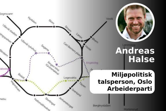 Ruters alternativ er en T-banetunnel som er bra for hele byen. Det er den vi bør bygge.