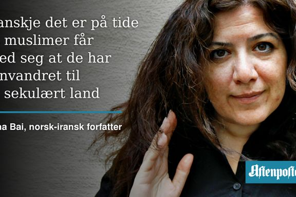 Norsk-iransk forfatter er lei av muslimenes ikke-ansvar