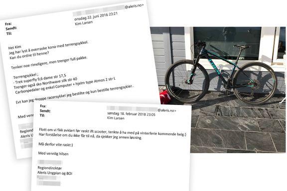 Ville overraske kona med sykkel – ble tiltalt for grov korrupsjon