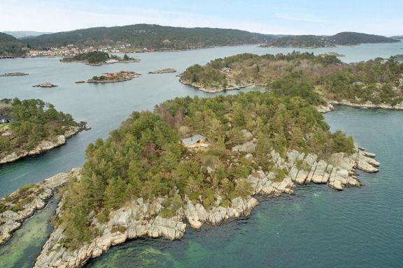 For 8,5 millioner kroner kan denne øya bli din