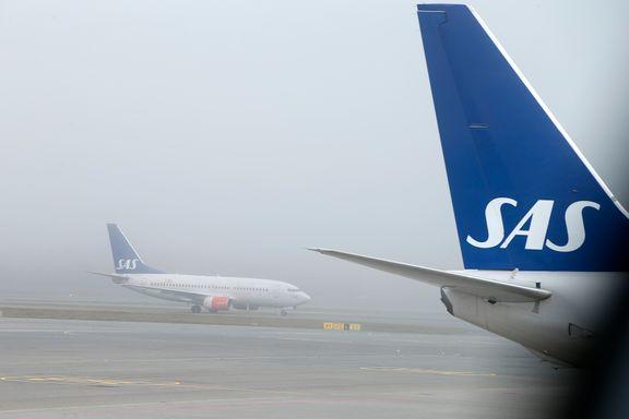 Morgentåke skaper problemer på Oslo lufthavn