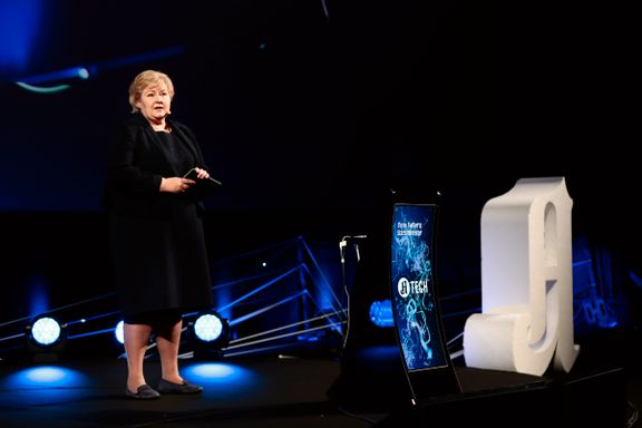 Erna Solberg får kritikk på Aftenposten-konferanse: – Vi kan ikke lede landet uten å ha en strategi