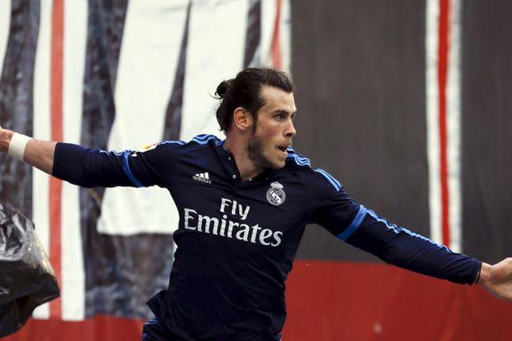 Gareth Bale reddet Real Madrid i Ronaldos fravær