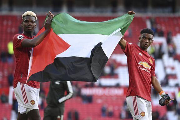 Solskjær forsvarer United-spillernes Palestina-markering
