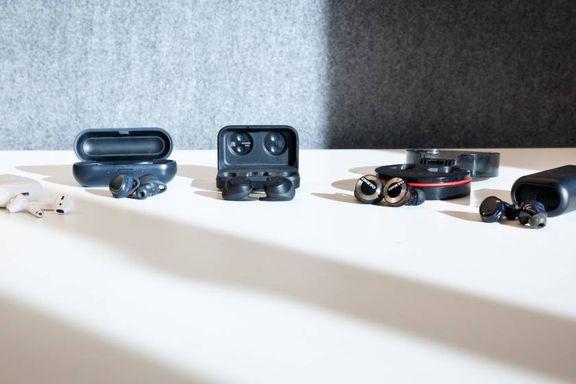 Test av «helt» trådløse øreplugger: Én av disse danker ut Apple-pluggene