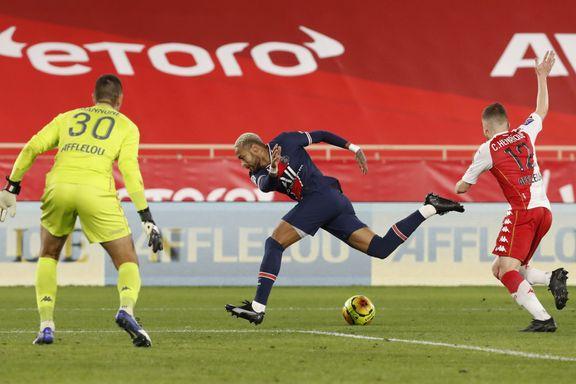 PSG raknet fullstendig mot Monaco