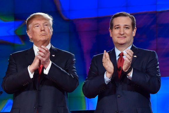 Washington Post: – Ted Cruz støtter likevel Trump