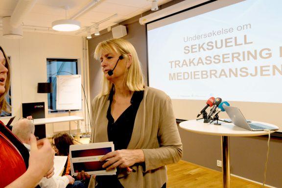 178 personer i mediebransjen sier de er blitt utsatt for seksuell trakassering det siste halve året