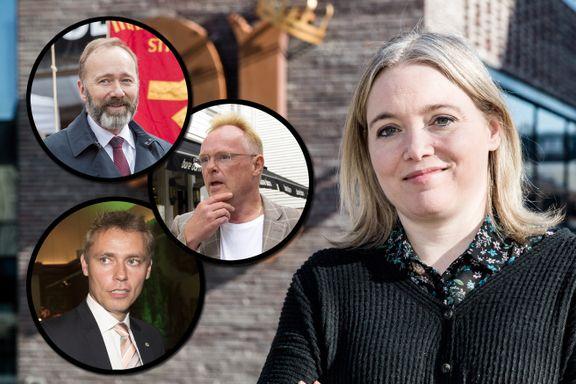 Da det raste som verst, fikk den politiske redaktøren spørsmålet: «Hva er det egentlig dere holder på med der oppe i Trøndelag?»