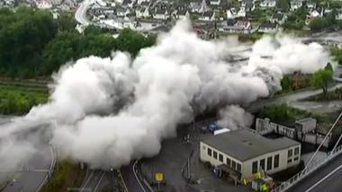 Video: Her forsvinner broene i Larvik