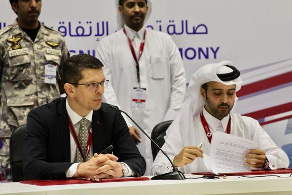 Kongsberg-gruppen inngår milliardavtale med Qatar