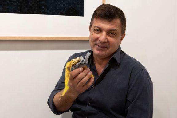 Banan til 1,1 millioner kroner spist av sulten kunstner