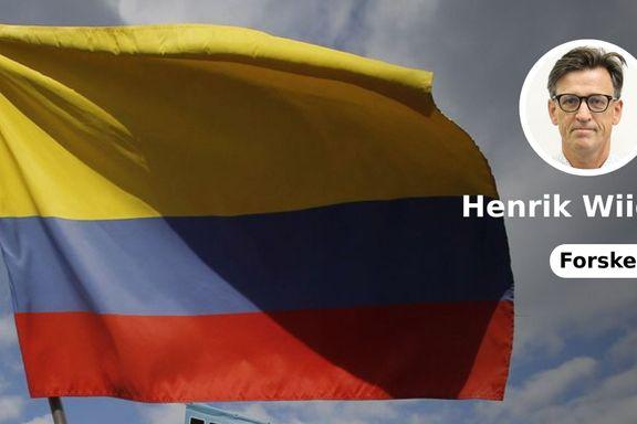 Norsk fredsarbeid i Colombia er en ubetinget suksess