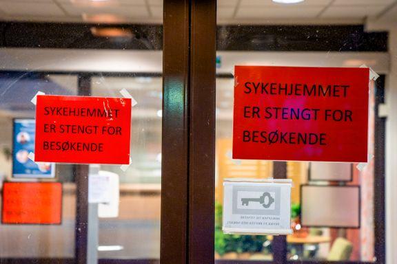 Over halvparten av koronadødsfallene har skjedd på sykehjem
