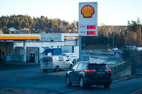Nordmenn får mer bensin for lønnen
