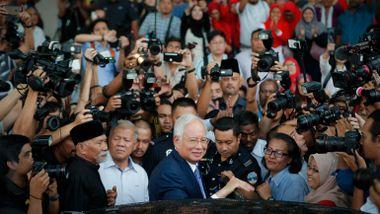 Malaysias tidligere statsminister dømt for korrupsjon