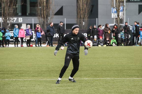 Nå trener Rosenborg-spilleren med ball igjen