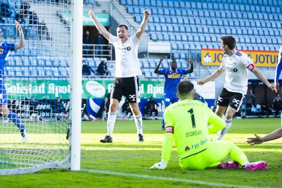 Rosenborg reddet seieren på overtid
