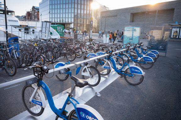 Dette er Oslos mest populære sykkelstativ. Nå skal det rives.