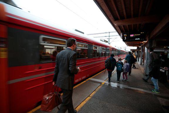 Togstreiken tvinger folk til å dra tidlig hjem fra byen