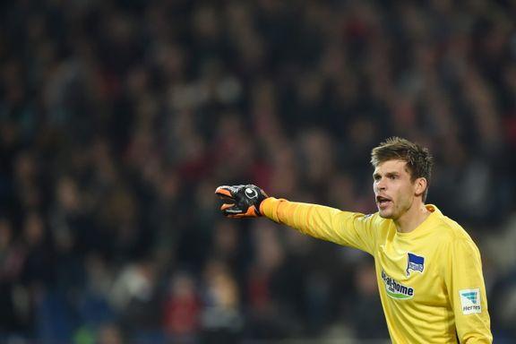 Jarstein forlenger med Hertha: - Jeg er veldig stolt