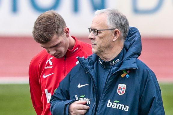 Lars Lagerbäck svarte på spørsmål om bråket med Alexander Sørloth