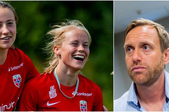 Landslagssjefen: – Hun er et av de største talentene i Norge