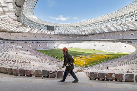 Ny rapport: – Bygging av VM-arenaer i Russland har krevd 17 liv