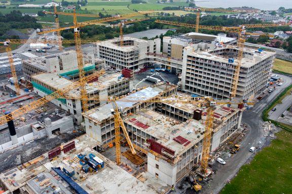 Norges største byggeprosjekt: Kontrakt ble 600 millioner dyrere