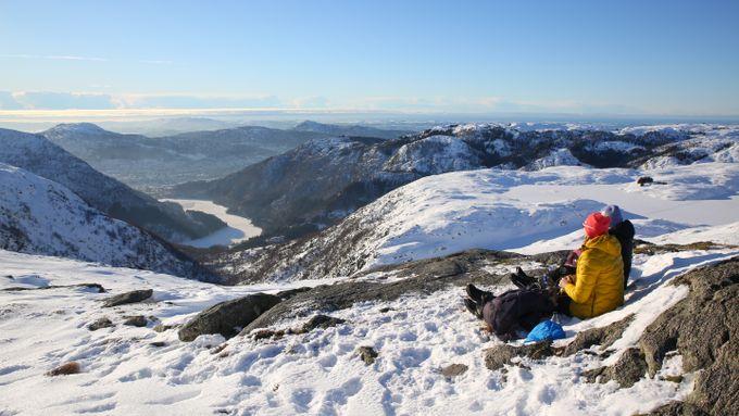 Usikker på hva dere skal gjøre i vinterferien? Her er mange tips til fine turer.