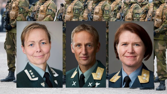 Her er de heteste kandidatene som ny forsvarssjef – to er kvinner