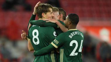 Sander Berge scoret på Anfield. Så slo Liverpool tilbake.