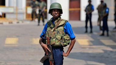 Frykt for nye angrep på Sri Lanka