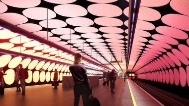 Byggestart for Fornebubanen: Foreslår helt ny løsning for Majorstuen stasjon