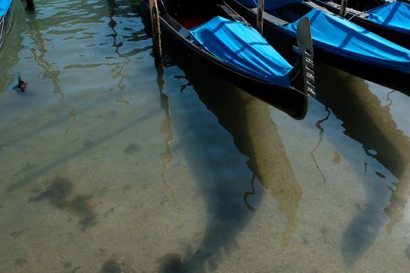 Krystallklart vann et lite lyspunkt for Venezia