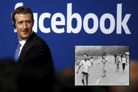 Zuckerberg innrømmer at bildesensuren var en feil