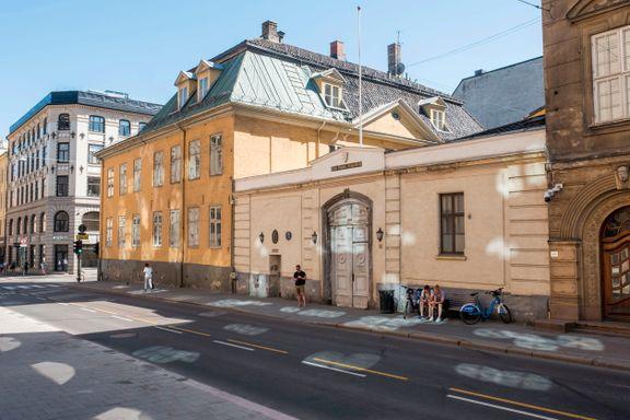 Nå er den historiske bygningen i Oslo sentrum solgt. Prisen: 10 kroner.