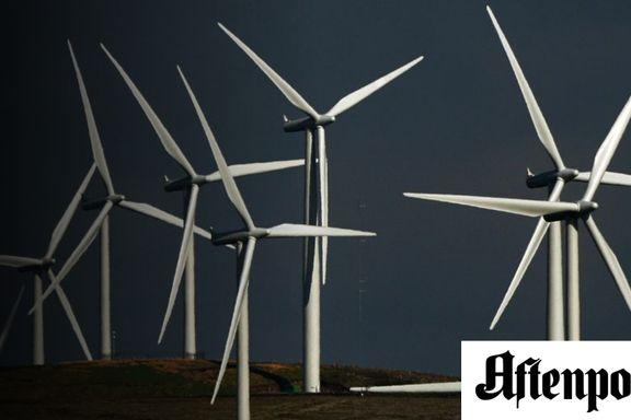 På høy tid med planer for vindkraft