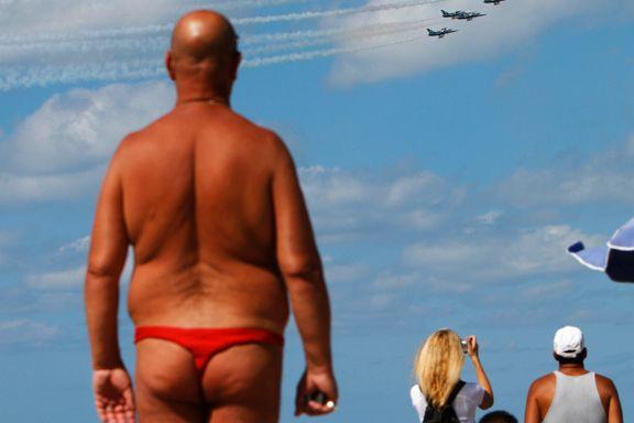 Strandvettreglene: Det er ingen skam å vise folkeskikk når du soler deg.