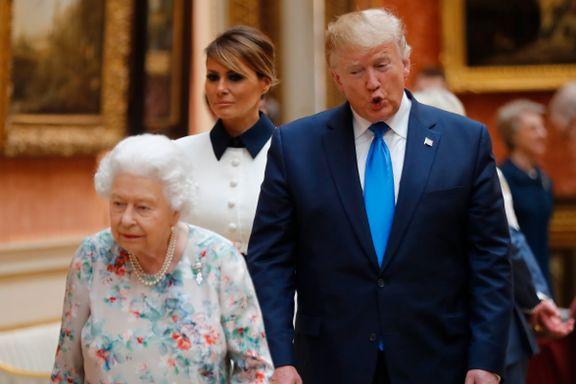 Britiske politikere boikottet slottsmiddagen med Trump