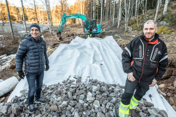 Anlegger ny helårs turvei til Sognsvann
