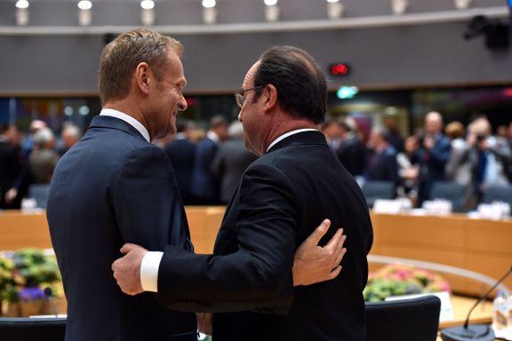 Den uvanlige situasjonen overrasker selv EUs egne ledere: Landene er enige om alt