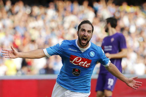 Napoli stoppet Fiorentinas seiersrekke
