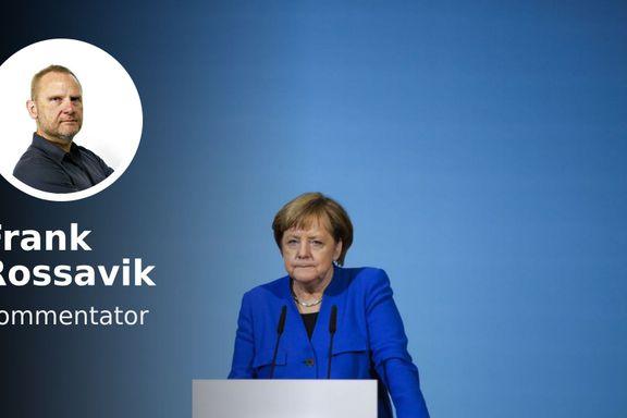 «Angela Merkel er sliten og svekket. Prosjektet har et preg av vokskabinett.»